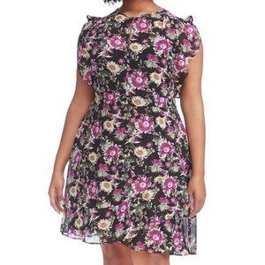 RACHEL Rachel Roy Floral Lora Dress NWOT